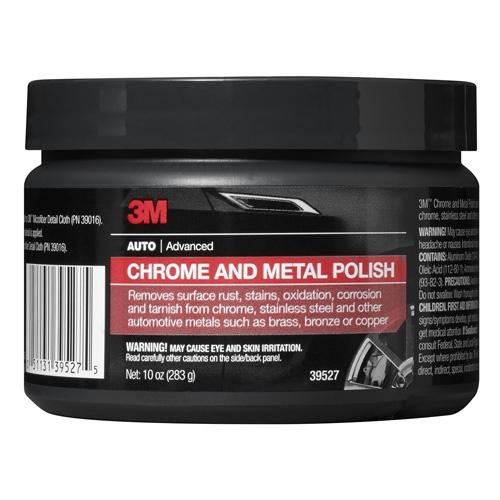 3M Chrome & Metal Polish, 39527 - 10 oz.