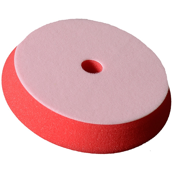 Buff and Shine Uro-Cell DA Foam Finishing Pad, Red - 6 inch