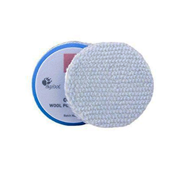 Rupes Wool Polishing Pad, Blue/Coarse - 45mm (1.5 inch)