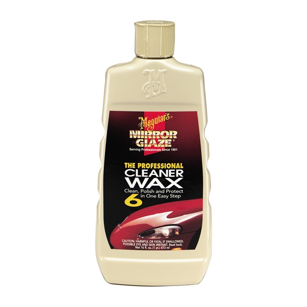Meguiars Mirror Glaze Liquid Cleaner Wax (16oz)