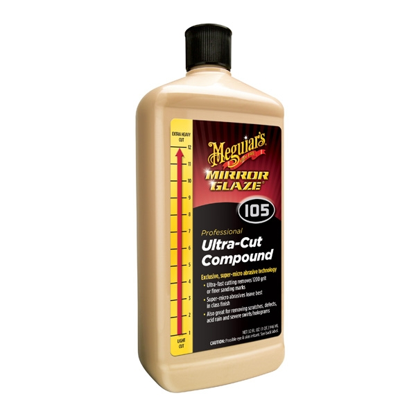 Meguiar S Ultra Cut Compound 105 M10532 32 Oz