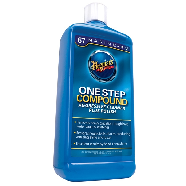 Meguiars Boat/RV One Step Compound (32oz)