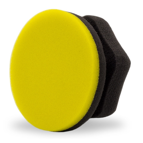 Adam's Hex-Grip Yellow Car Wax Applicator