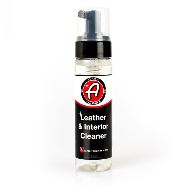 Adam's Foaming Leather & Interior Cleaner - 6 oz.