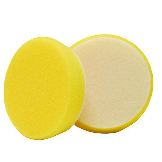 Buff and Shine Uro-Tec Foam Polishing Pad, Yellow - 3 inch (2 pack)