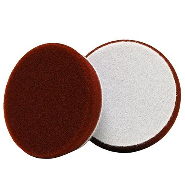 Buff and Shine Uro-Tec Foam Medium Cutting Pad, Maroon - 3 inch (2 pack)