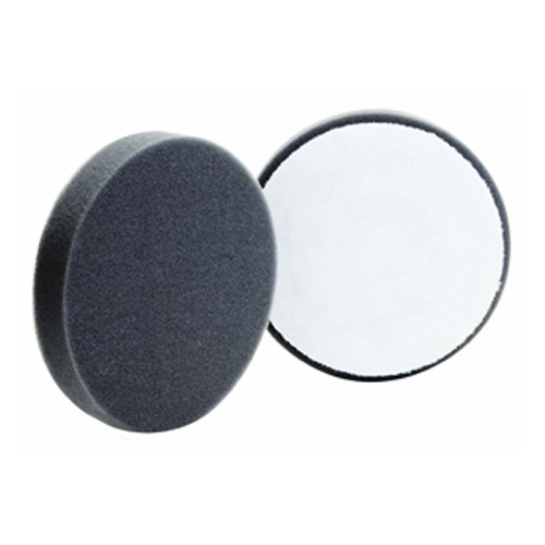 Buff and Shine Black Foam Finishing Pad - 5.5 inch