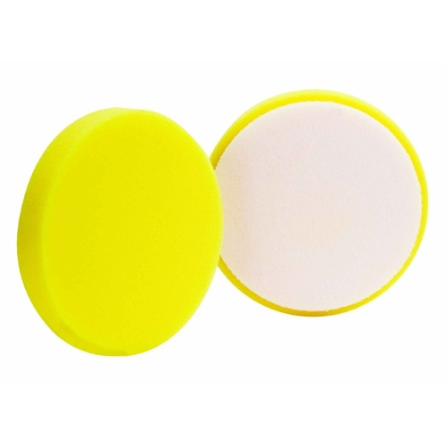 Buff and Shine Yellow Foam Cutting Pad - 5.5 inch