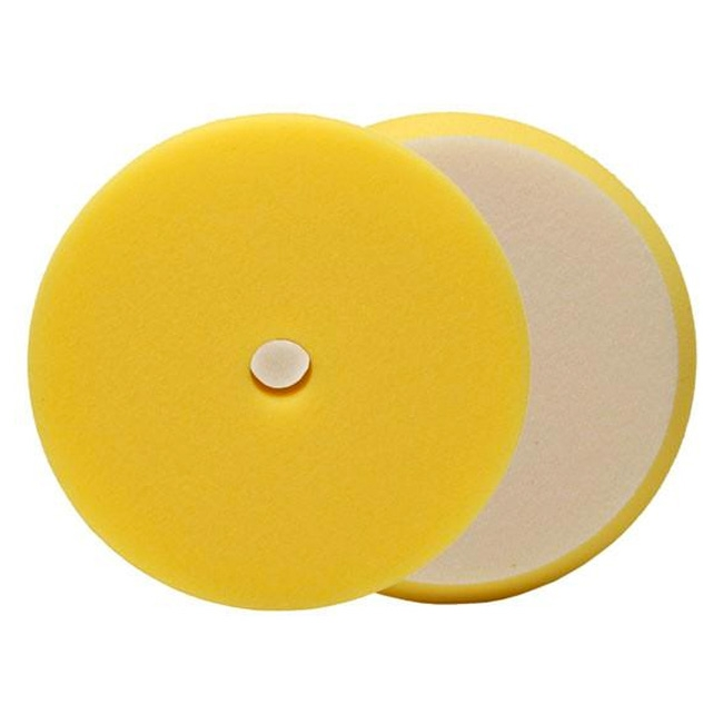 Buff and Shine Uro-Tec Foam Polishing Pad, Yellow - 5 inch