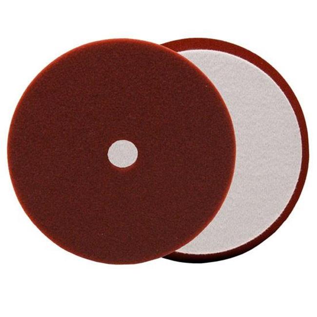 Buff and Shine Uro-Tec Foam Medium Cutting Pad, Maroon - 6 inch