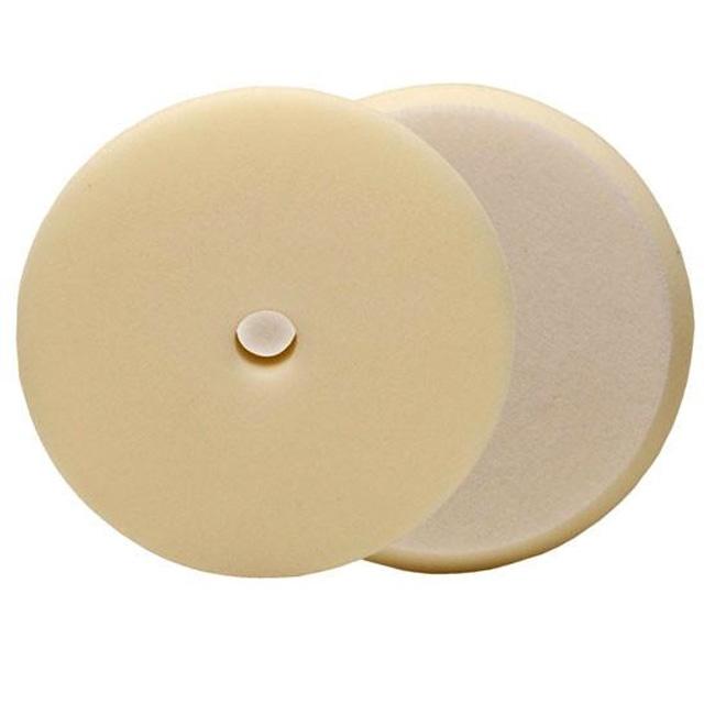 Buff and Shine Uro-Tec Foam Finishing Pad, White - 6 inch