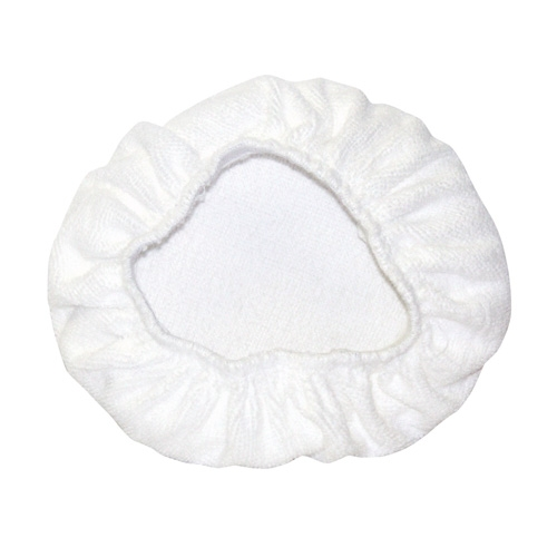 AutoSpa Cotton Terry Application Bonnets for 5-6 inch Orbital Polishers (2 pack)