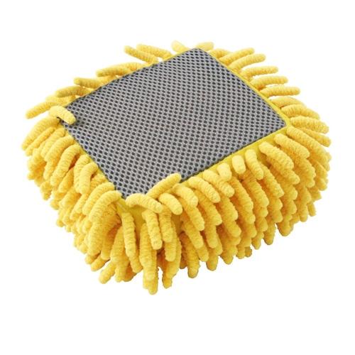 Carrand Suds-N-Scrub Microfiber 2-in-1 Compact Wash Sponge