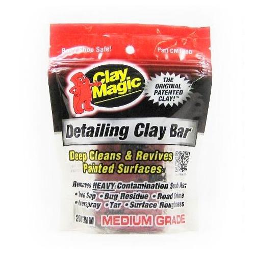 Clay Magic Clay Bar - Red Medium Grade