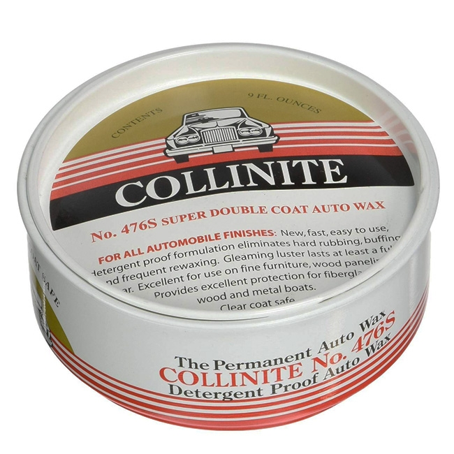 Collinite No. 476S Super Double Coat Auto Wax - 9 oz.