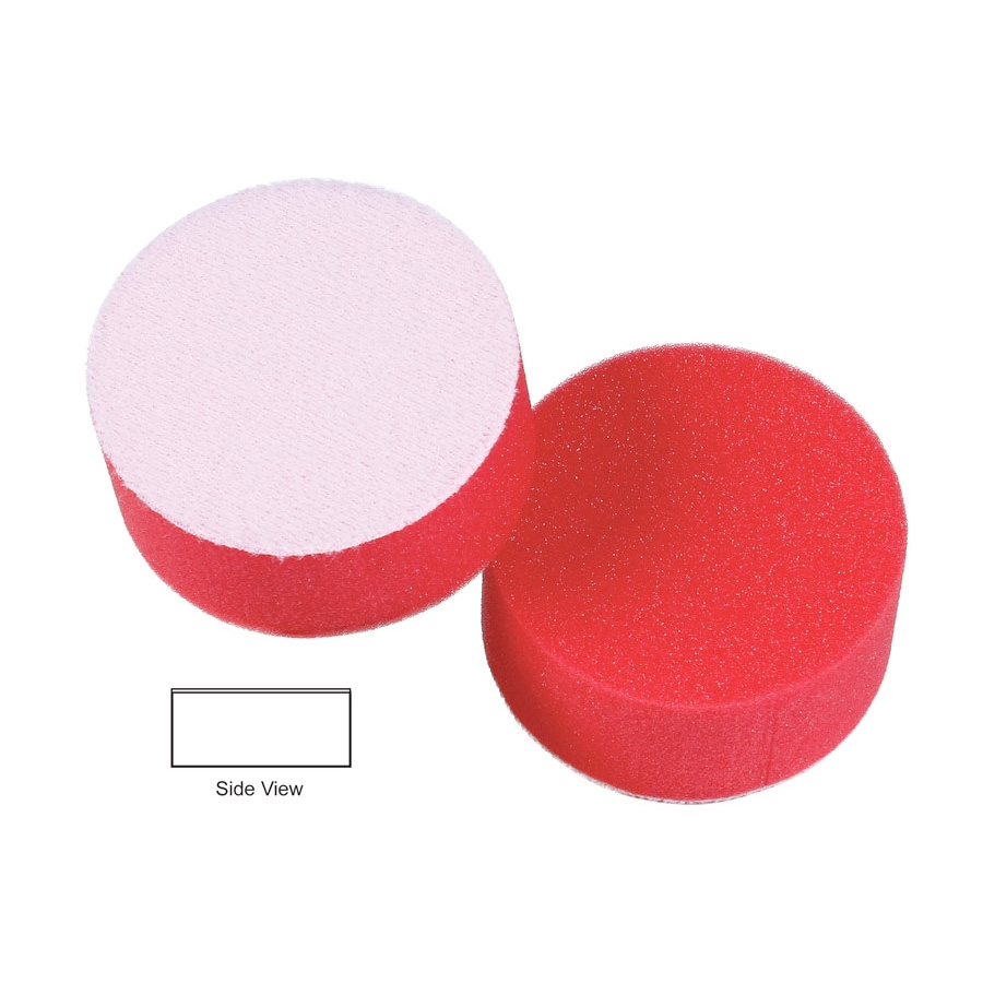 Lake Country Hydro-Tech Foam Finishing Pad, Crimson - 3 inch x 7/8 inch