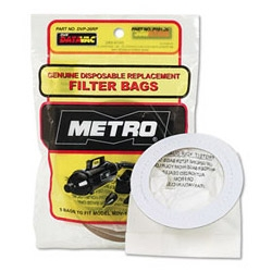 MetroVac Replacement Filter Bags for MDV, VM & AM Series (5 pack)