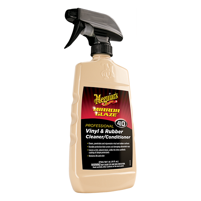 Meguiar's Vinyl & Rubber Cleaner/Conditioner #40, M4016 - 16 oz.