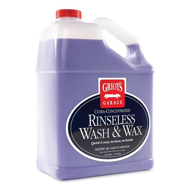 Griot's Garage Rinseless Wash & Wax - 1 gal.