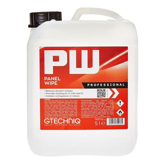 Gtechniq Panel Wipe - 5 liter