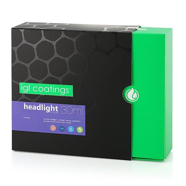 IGL Ecocoat Headlight Kit - 30 ml