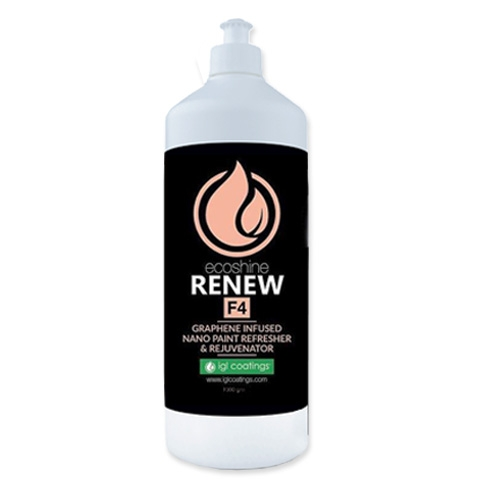 IGL Ecoshine F4 Renew, Graphene Infused Nano Paint Refresher & Rejuvenator - 1000g
