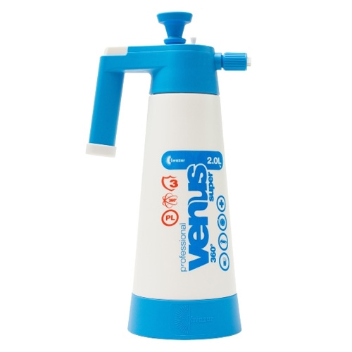 Kwazar Venus Pro+ Foamer Compression Sprayer, Blue - 2.0 Liter