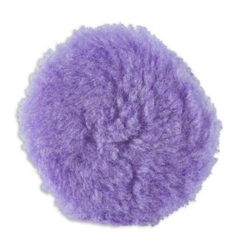 Lake Country Purple Foamed Wool Buffing/Polishing Pad - 4.25 inch