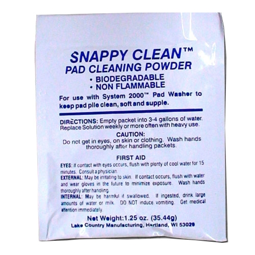 Lake Country Snappy Clean Pad Cleaning Powder