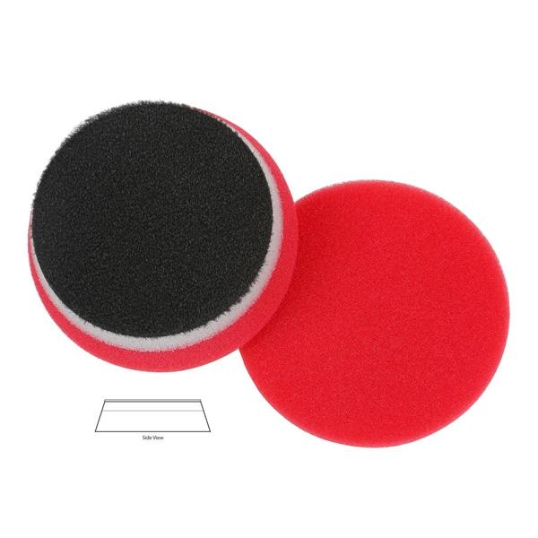 Lake Country Heavy Duty Orbital (HDO) Foam Waxing Pad, Red - 3.5 inch