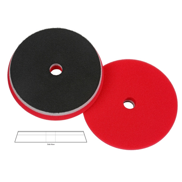 Lake Country Heavy Duty Orbital (HDO) Foam Waxing Pad, Red - 6.5 inch