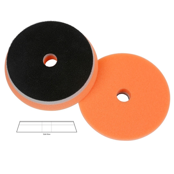 Lake Country Heavy Duty Orbital (HDO) Foam Polishing Pad, Orange - 5.5 inch