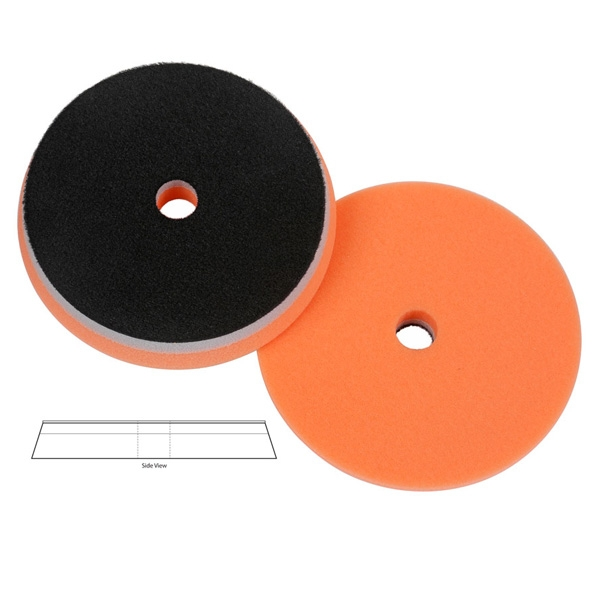 Lake Country Heavy Duty Orbital (HDO) Foam Polishing Pad, Orange - 6.5 inch