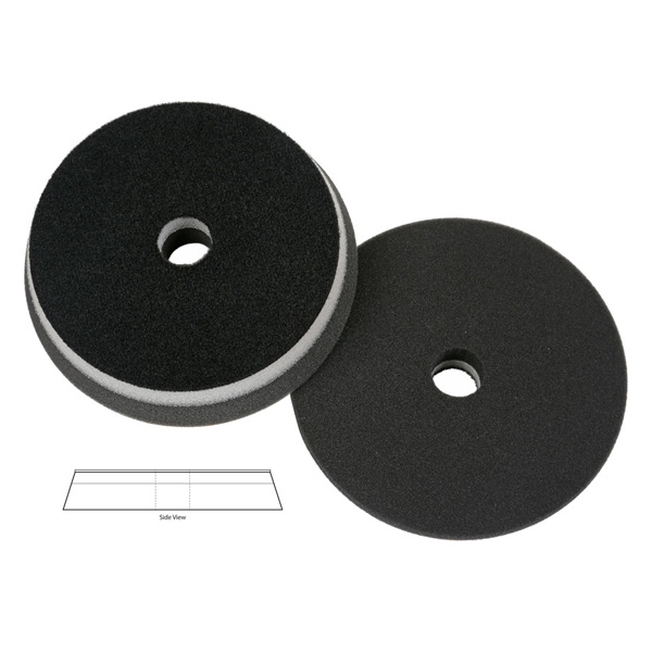 Lake Country Heavy Duty Orbital (HDO) Foam Finishing Pad, Black - 5.5 inch