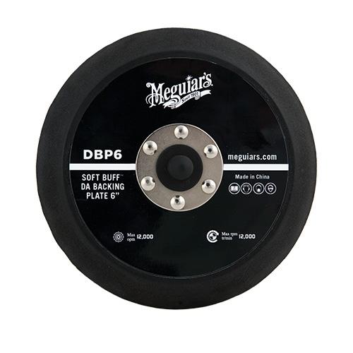 Meguiar's Soft Buff Backing Plate for Orbital/DA Polishers, DBP6 - 6 inch