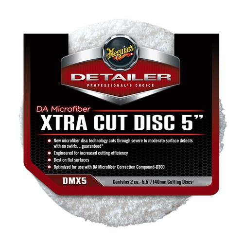 Meguiar's DA Microfiber Xtra Cutting Discs, DMX5 - 5 inch (2 pack)