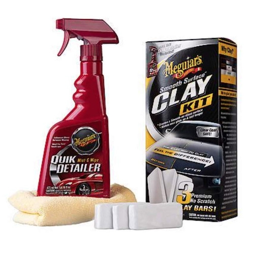 Meguiar's Smooth Surface Clay Kit (3 x 60 gram bars)