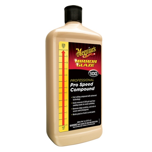 Meguiar's Pro Speed Compound #100, M100 - 32 oz.