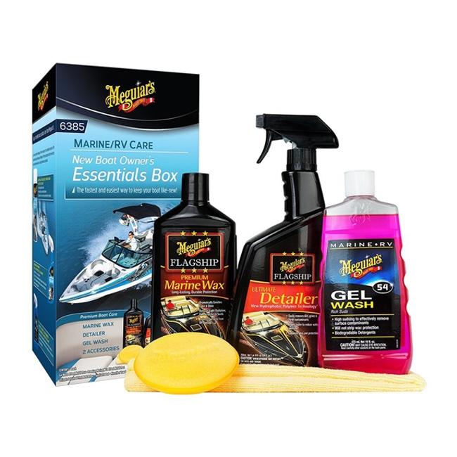 Meguiar's New Boat Owner's Essentials Box, M6385