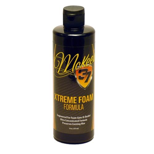 McKee's 37 Xtreme Foam Formula Auto Shampoo - 16 oz.