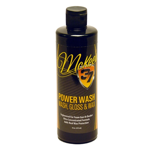 McKee's 37 Power Wash - Wash & Wax - 16 oz.