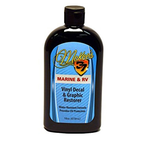 McKee's 37 Marine & RV Viny Decal & Graphic Restorer - 16 oz.