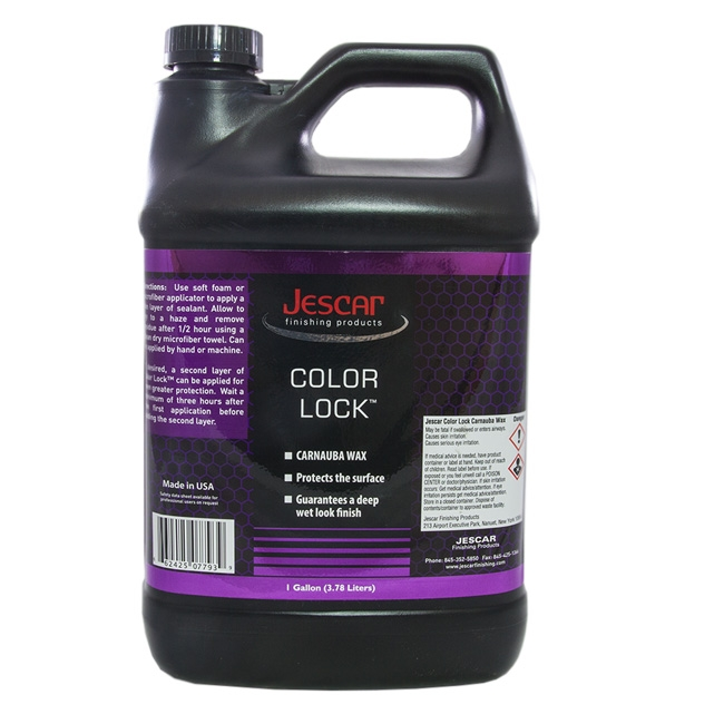 Jescar Color Lock Carnauba Wax - 1 gal.