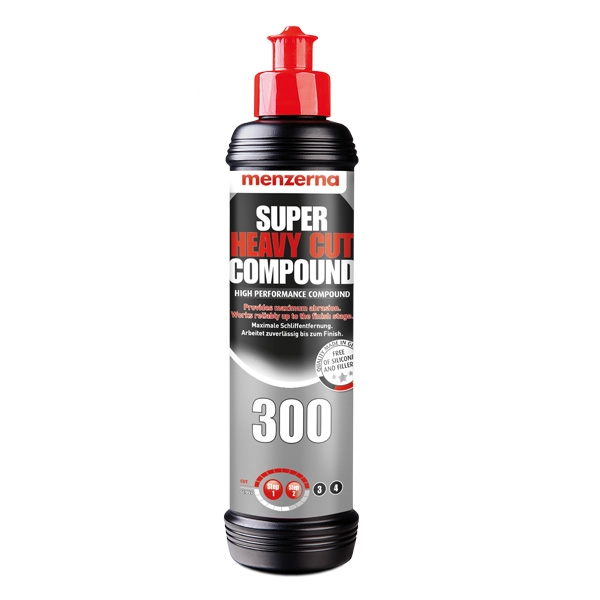 Menzerna Super Heavy Cut Compound 300 - 8 oz.d