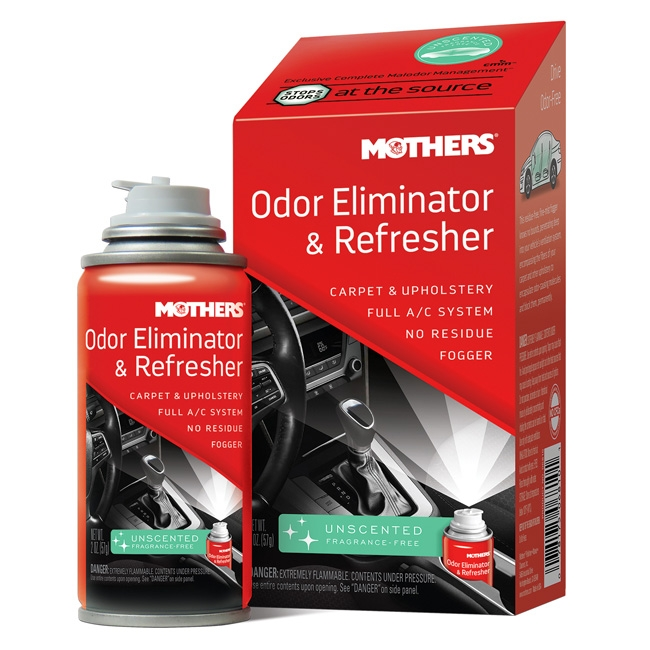 Mothers Odor Eliminator & Refresher, Unscented - 2 oz. aerosol