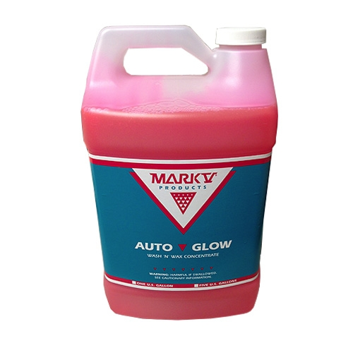 Mark-V Auto Glow Wash & Wax - 1 gal.