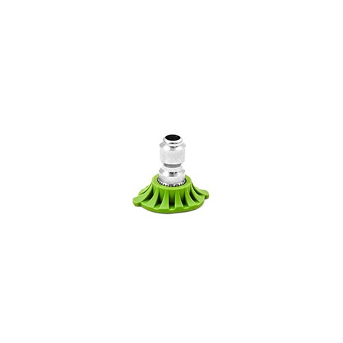 MTM Hydro Stainless Steel 3.5 QC Nozzle, Green 25° - 1/4 inch