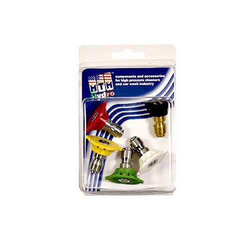 MTM Hydro Stainless Steel 5-Pack of 3.5 QC Nozzles - 1/4 inch