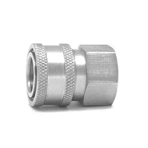 """MTM Hydro Stainless Steel Quick Connect Coupler - 3/8"""" Male"""