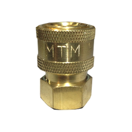 MTM Hydro Brass Quick Connect Socket, 1/4 inch Female